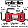 "barkOufitters ""Leader""  Emotional Support Animal Vest Harness - Available in 5 Sizes - Red ONLY"