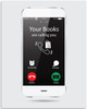 Your Books Are Calling You - Cell Phone - 11x14 Unframed Art Print - Library
