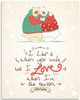I Like It When You Smile - 11x14 Unframed Art Print - Great Wedding Gift, Gift to Love Ones