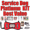 Service Dog Kit - Everything for Service Dogs but the Kitchen Sink