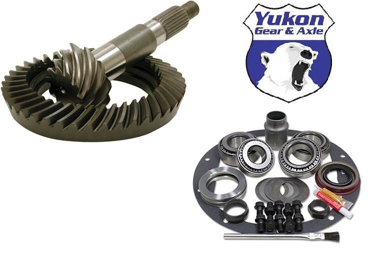 Premium Ring and Pinion Gear Set /& Master Bearing Kit Suzuki Samurai 4.57 Ratio