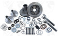 2000-2001 Dodge Ram 1500 Dana 44 Yukon Free Spin Hub Conversion Kit