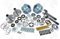 "2010-2011 Dodge Ram 3500 DRW AAM 9.25"" Yukon Free Spin Hub Conversion Kit"
