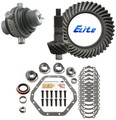 "1998-2015 GM 10.5"" 14 Bolt Ring and Pinion Grizzly Locker Elite Gear Pkg"