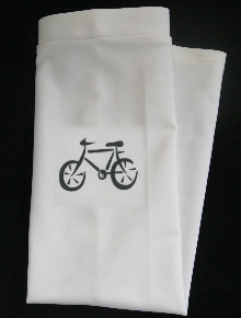 BICYCLE - WHITE CYCLE SUN SLEEVEZ