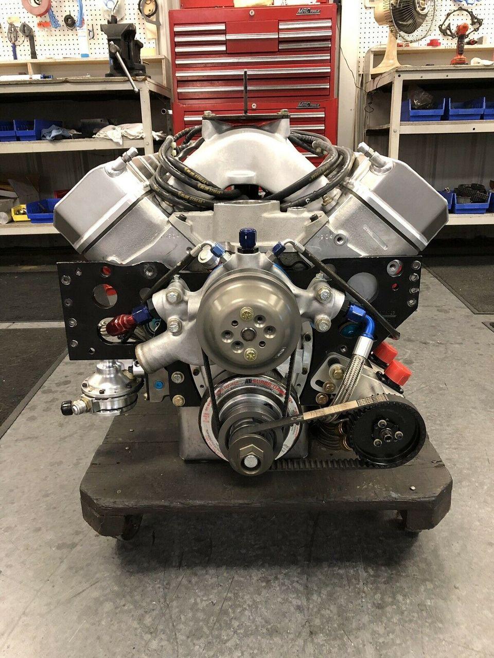 Nascar Engine Specs >> Fresh Built Nascar Chevy Sb2 2 Complete Race Engine 359cid 844 Hp 550 Ft Lb