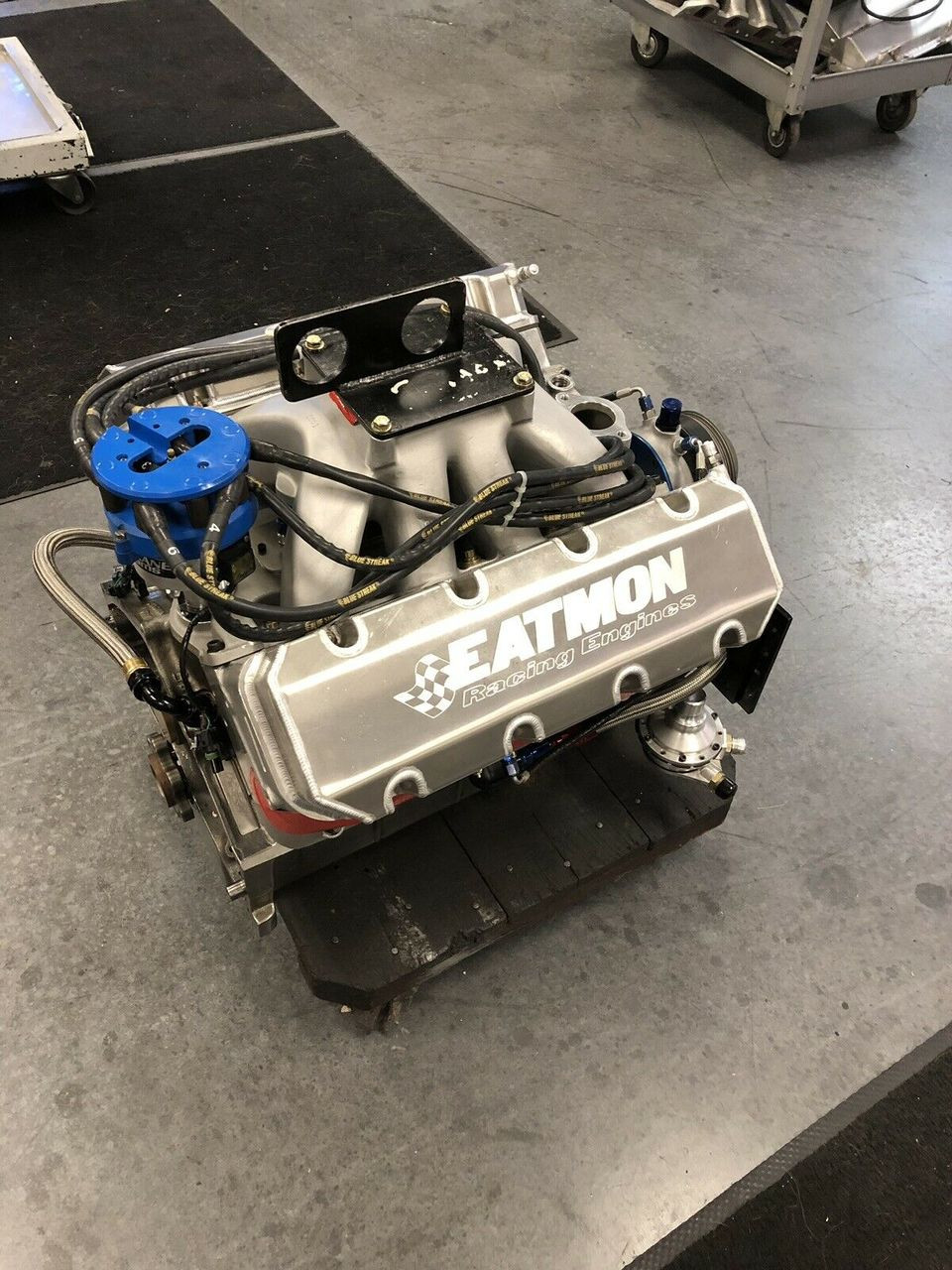 FRESH BUILT NASCAR CHEVY SB2 2 COMPLETE RACE ENGINE 359cid 844 HP 550 ft-lb