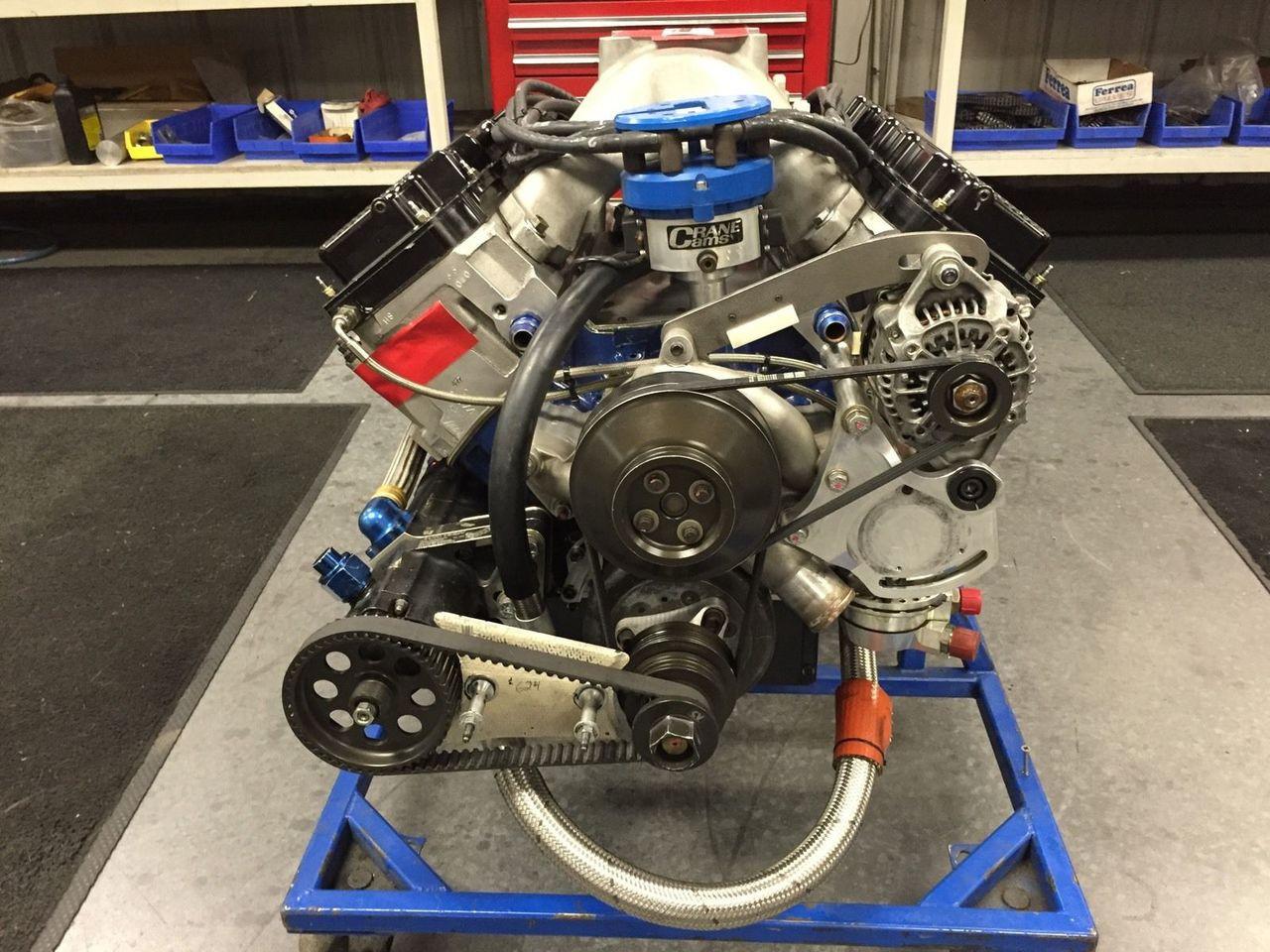 Nascar Engine Specs >> Fresh Built Nascar Ford Roush Yates D3 Engine 827hp 555 Ft Lbs