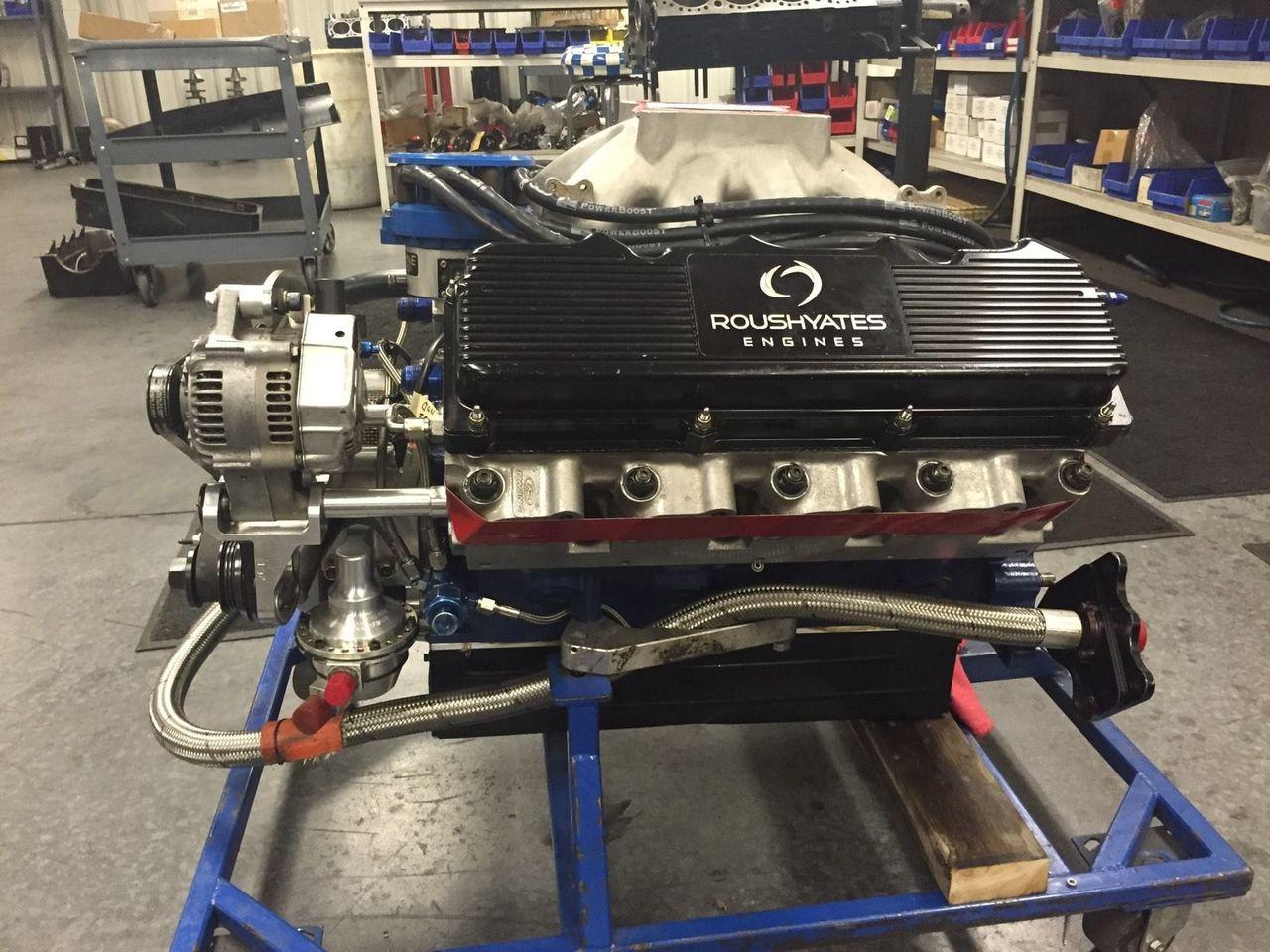 FRESH BUILT NASCAR FORD ROUSH YATES D3 ENGINE 827HP 555 ft-LBS