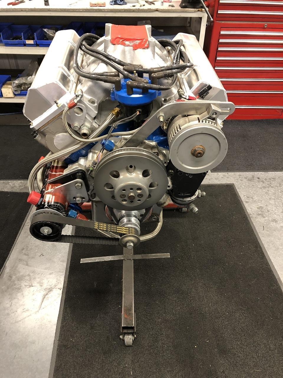 Fresh Built 357cid Ford Yates C3 Engine 790HP 541ft-lbs Torque