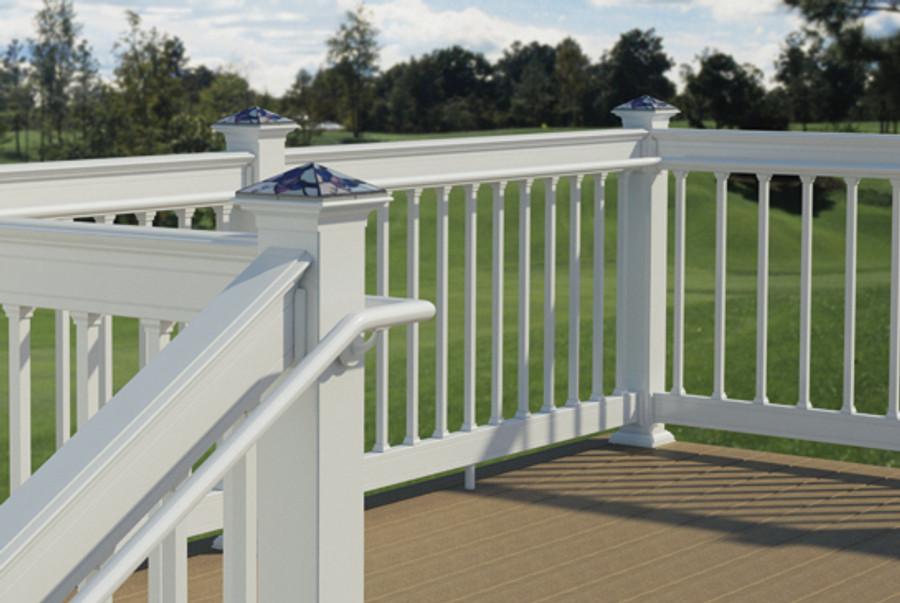 Secondary Vinyl Handrail From Deckorators Deckexpressions