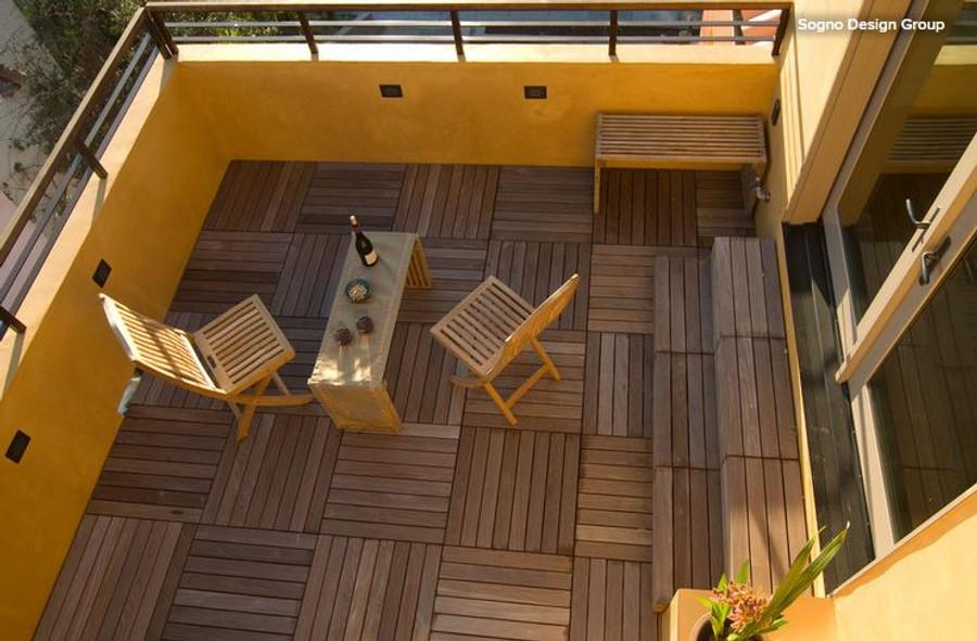 Ipe Wood Tiles by Bison