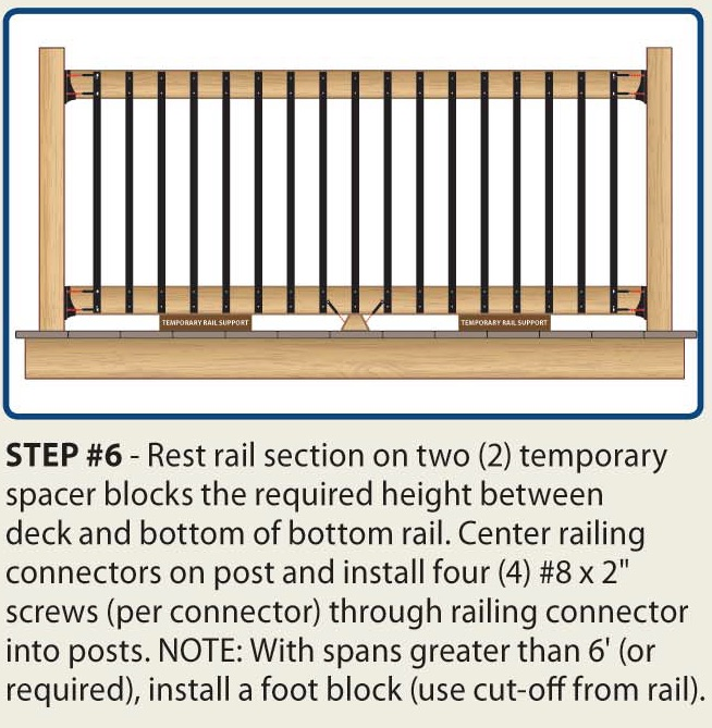 Face Mount Balusters | DeckExpressions.com