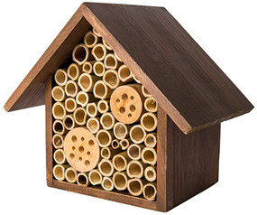 heather chestnut beneficial bee hotel