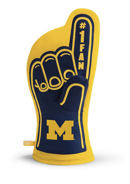 university of michigan oven mitt