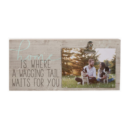 dog runs, picture clip, photo display, rustic