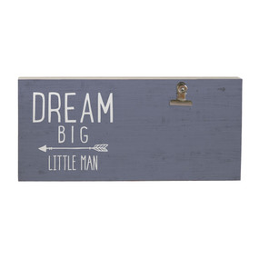 dream big, picture clip, rustic, photo display, 5.5 x 12 x 1.25