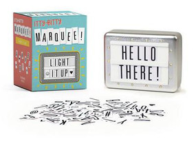 itty bitty marquee: light it up!, display, personalized message