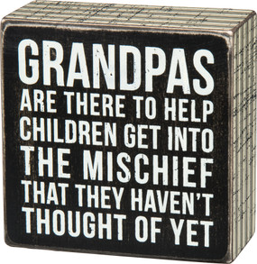 grandpas are there to help children sign