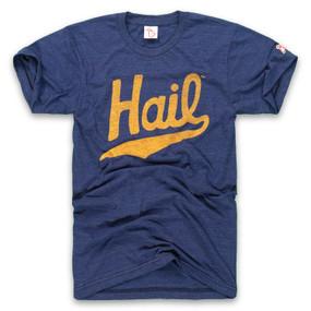 michigan - navy hail unisex t-shirt, university of michigan, wolverine, vintage