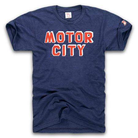 Baseball motor city navy unisex t-shirt, detroit, tigers , vintage