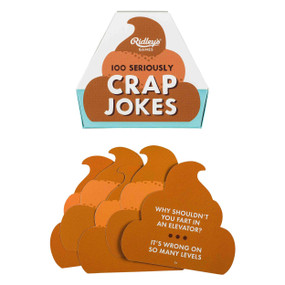 100 crap jokes, packaged in a poo-shaped box