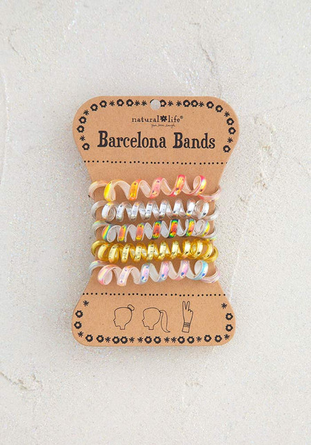 Barcelona bands, hair accessories, iridescent