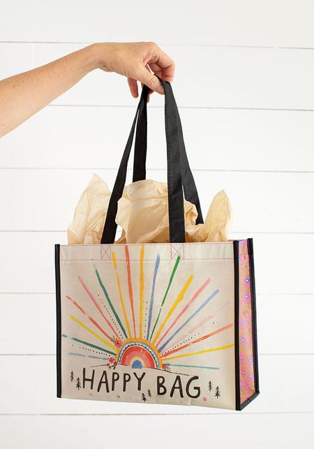 large rainbow burst happy bag