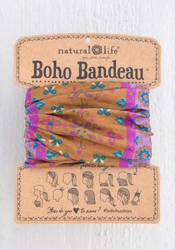 gold flower mandala boho bandeau