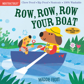 indestructibles: row, row, row your boat, front cover