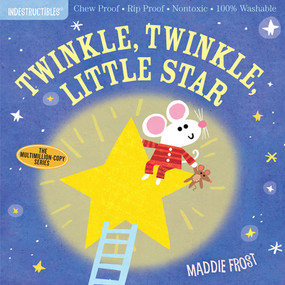 indestructibles: twinkle, twinkle, little star, front cover