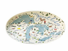 great lakes tidbit tray, change holder, key holder