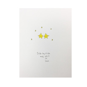 stars side by side | anniversary