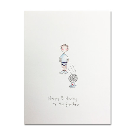happy birthday to my brother birthday card