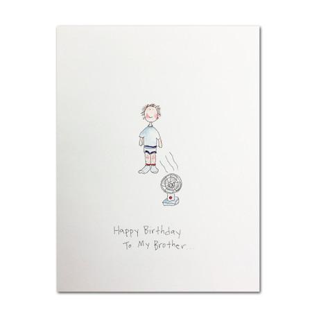 happy birthday to my brother birthday card