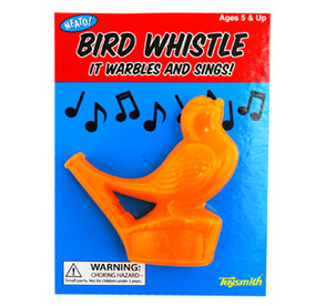 bird warbler water whistle stocking stuffer gift kids little boy girl