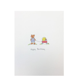 sunshine everywhere birthday card