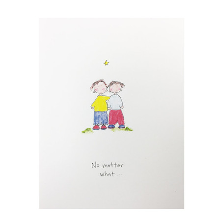 we'll get through this together encouragement card