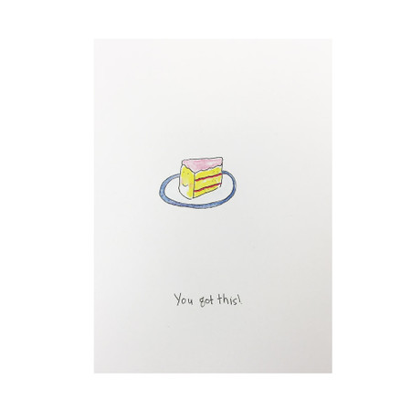 you got this! encouragement card