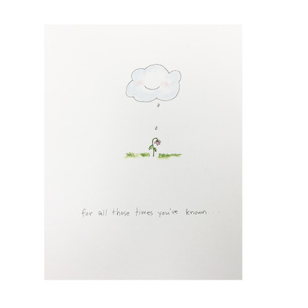 for all those times thank you card