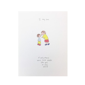 to my son love, encouragement, graduation card