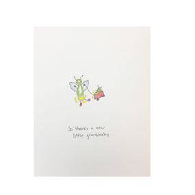 a new grandbaby card