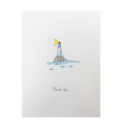 the light you shine thank you card