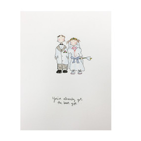 you've already got the best gift wedding card