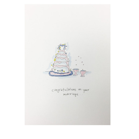 congratulations on your marriage wedding card