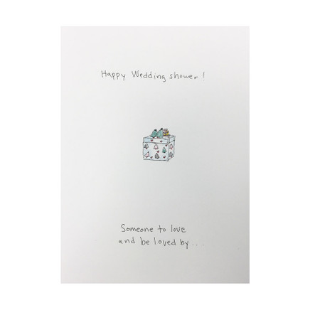 someone to love wedding shower card