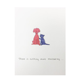 true blue friend friendship card
