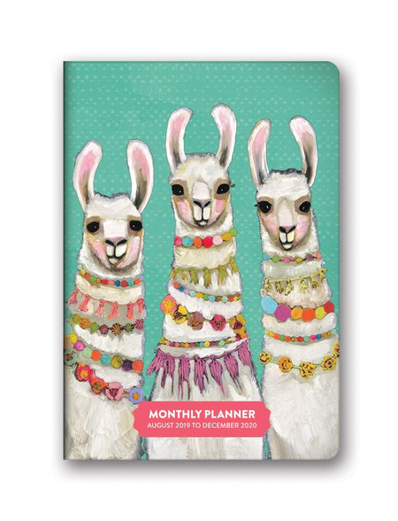 majestic animals 2020 monthly pocket planner, front cover