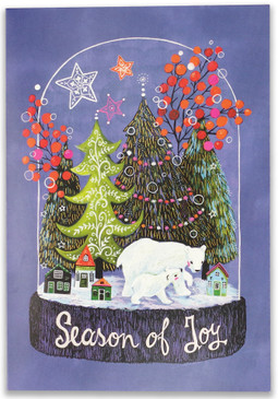 season of joy small boxed holiday cards, front