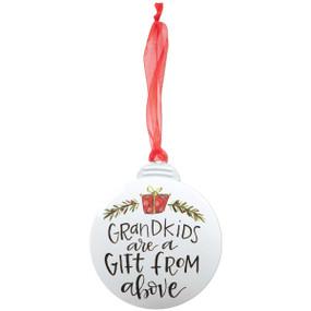 grandkids  personalizable ornament
